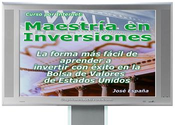 E-Curso Maestría en Inversiones Bursátiles